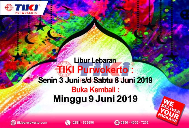 Tiki Purwokerto Mengucapkan Selamat Hari Raya Idul Fitri 1440H, Mohon Maaf Lahir & Bathin
